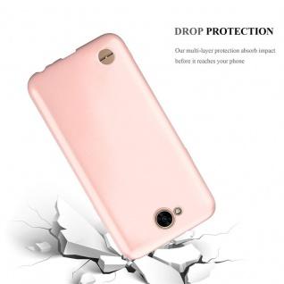 Cadorabo Hülle für LG X Power 2 in METALLIC ROSÉ GOLD - Handyhülle aus flexiblem TPU Silikon - Silikonhülle Schutzhülle Ultra Slim Soft Back Cover Case Bumper - Vorschau 3