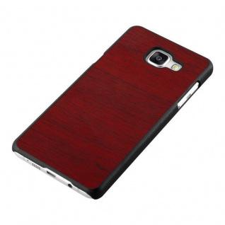 Cadorabo Hülle für Samsung Galaxy A5 2016 in WOODEN ROT ? Handyhülle aus flexiblem TPU Silikon ? Silikonhülle Schutzhülle Ultra Slim Soft Back Cover Case Bumper - Vorschau 4