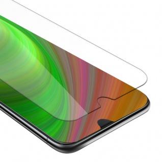 Cadorabo Panzer Folie für HTC Desire 19+ - Schutzfolie in KRISTALL KLAR - Gehärtetes (Tempered) Display-Schutzglas in 9H Härte mit 3D Touch Kompatibilität