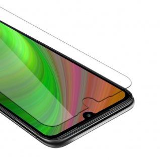 Cadorabo Panzer Folie für Xiaomi Mi 7 Schutzfolie in KRISTALL KLAR Gehärtetes (Tempered) Display-Schutzglas in 9H Härte mit 3D Touch Kompatibilität