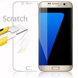 Cadorabo Panzer Folie für Samsung Galaxy S7 EDGE - Schutzfolie in KRISTALL KLAR - Gehärtetes (Tempered) Display-Schutzglas in 9H Härte mit 3D Touch Kompatibilität - Vorschau 2