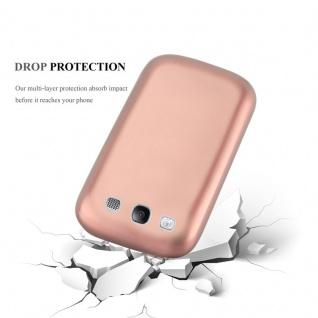 Cadorabo Hülle für Samsung Galaxy S3 / S3 NEO in METALLIC ROSE GOLD - Handyhülle aus flexiblem TPU Silikon - Silikonhülle Schutzhülle Ultra Slim Soft Back Cover Case Bumper - Vorschau 3