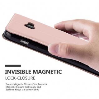 Cadorabo Hülle für Samsung Galaxy A5 2017 in GOLD SCHWARZ ? Handyhülle mit Magnetverschluss, Standfunktion und Kartenfach ? Case Cover Schutzhülle Etui Tasche Book Klapp Style - Vorschau 4