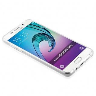 Cadorabo Hülle für Samsung Galaxy A5 2016 in VOLL TRANSPARENT - Handyhülle aus flexiblem TPU Silikon - Silikonhülle Schutzhülle Ultra Slim Soft Back Cover Case Bumper - Vorschau 4