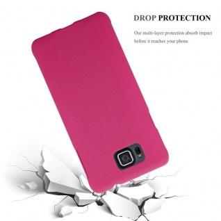 Cadorabo Hülle für Samsung Galaxy ALPHA in FROSTY PINK - Hardcase Handyhülle aus Plastik gegen Kratzer und Stöße - Schutzhülle Bumper Ultra Slim Back Case Hard Cover - Vorschau 3