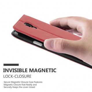Cadorabo Hülle für Samsung Galaxy NOTE 3 NEO in SAFRAN ROT ? Handyhülle mit Magnetverschluss, Standfunktion und 2 Sichtfenstern ? Case Cover Schutzhülle Etui Tasche Book Klapp Style - Vorschau 5