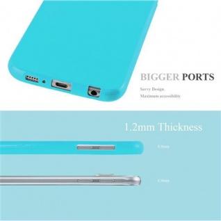 Cadorabo Hülle für Samsung Galaxy S6 in JELLY HELL BLAU ? Handyhülle aus flexiblem TPU Silikon ? Silikonhülle Schutzhülle Ultra Slim Soft Back Cover Case Bumper - Vorschau 2