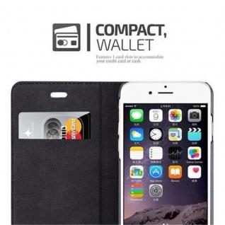 Cadorabo Hülle für Apple iPhone 6 PLUS / iPhone 6S PLUS in CAPPUCCINO BRAUN - Handyhülle mit Magnetverschluss, Standfunktion und Kartenfach - Case Cover Schutzhülle Etui Tasche Book Klapp Style - Vorschau 2