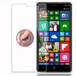 Cadorabo Panzer Folie für Nokia Lumia 830 - Schutzfolie in KRISTALL KLAR - Gehärtetes (Tempered) Display-Schutzglas in 9H Härte mit 3D Touch Kompatibilität - Vorschau 4