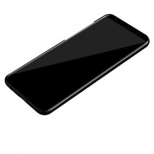 Cadorabo Hülle für Samsung Galaxy S8 in METALL SCHWARZ - Hardcase Handyhülle aus Plastik gegen Kratzer und Stöße - Schutzhülle Bumper Ultra Slim Back Case Hard Cover - Vorschau 3