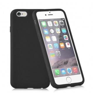 Cadorabo - TPU Silikon Schutzhülle (Full Body Rund-um-Schutz auch für das Display) für Apple iPhone 4 / iPhone 4S in OXID SCHWARZ