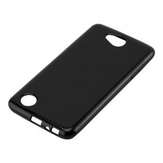 Cadorabo Hülle für LG X POWER 2 in SCHWARZ - Handyhülle aus flexiblem TPU Silikon - Silikonhülle Schutzhülle Ultra Slim Soft Back Cover Case Bumper - Vorschau 2