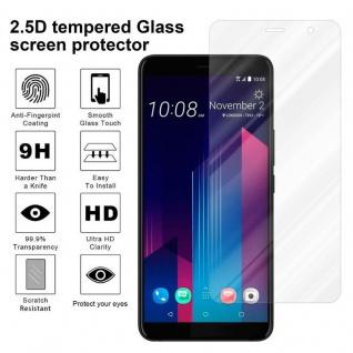 Cadorabo Panzer Folie für HTC U11 PLUS - Schutzfolie in KRISTALL KLAR - Gehärtetes (Tempered) Display-Schutzglas in 9H Härte mit 3D Touch Kompatibilität - Vorschau 4