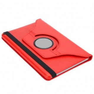 """"""" Cadorabo Tablet Hülle für Huawei MediaPad T3 8 (8, 0"""" Zoll) in MOHN ROT ? Book Style Schutzhülle OHNE Auto Wake Up mit Standfunktion und Gummiband Verschluss"""" - Vorschau 5"""