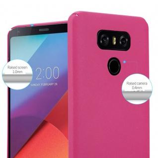 Cadorabo Hülle für LG G6 in FROSTY PINK - Hardcase Handyhülle aus Plastik gegen Kratzer und Stöße - Schutzhülle Bumper Ultra Slim Back Case Hard Cover - Vorschau 3