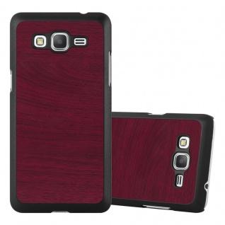 Cadorabo Hülle für Samsung Galaxy J5 2015 in WOODY ROT ? Hardcase Handyhülle aus Plastik gegen Kratzer und Stöße ? Schutzhülle Bumper Ultra Slim Back Case Hard Cover