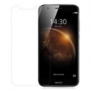 Cadorabo Panzer Folie für Huawei G7 PLUS / G8 / GX8 Schutzfolie in KRISTALL KLAR Gehärtetes (Tempered) Display-Schutzglas in 9H Härte mit 3D Touch Kompatibilität