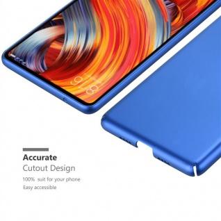 Cadorabo Hülle für Xiaomi Mi Mix 2 in METALL BLAU - Hardcase Handyhülle aus Plastik gegen Kratzer und Stöße - Schutzhülle Bumper Ultra Slim Back Case Hard Cover - Vorschau 5