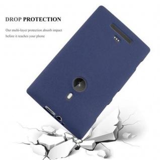 Cadorabo Hülle für Nokia Lumia 925 in FROST DUNKEL BLAU - Handyhülle aus flexiblem TPU Silikon - Silikonhülle Schutzhülle Ultra Slim Soft Back Cover Case Bumper - Vorschau 5