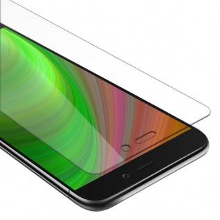Cadorabo Panzer Folie für Xiaomi RedMi 3S Schutzfolie in KRISTALL KLAR Gehärtetes (Tempered) Display-Schutzglas in 9H Härte mit 3D Touch Kompatibilität