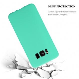 Cadorabo Hülle für Samsung Galaxy S8 PLUS in FROSTY GRÜN - Hardcase Handyhülle aus Plastik gegen Kratzer und Stöße - Schutzhülle Bumper Ultra Slim Back Case Hard Cover - Vorschau 3