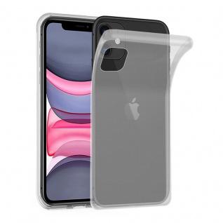 Cadorabo Hülle für Apple iPhone 11 PRO (XI PRO) in VOLL TRANSPARENT Handyhülle aus flexiblem TPU Silikon Silikonhülle Schutzhülle Ultra Slim Soft Back Cover Case Bumper