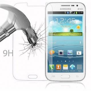 Cadorabo Panzer Folie für Samsung Galaxy WIN - Schutzfolie in KRISTALL KLAR - Gehärtetes (Tempered) Display-Schutzglas in 9H Härte mit 3D Touch Kompatibilität - Vorschau 3