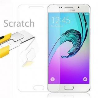 Cadorabo Panzer Folie für Samsung Galaxy A9 2016 - Schutzfolie in KRISTALL KLAR - Gehärtetes (Tempered) Display-Schutzglas in 9H Härte mit 3D Touch Kompatibilität - Vorschau 2