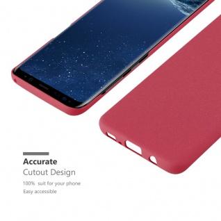 Cadorabo Hülle für Samsung Galaxy S8 PLUS in FROSTY ROT - Hardcase Handyhülle aus Plastik gegen Kratzer und Stöße - Schutzhülle Bumper Ultra Slim Back Case Hard Cover - Vorschau 5