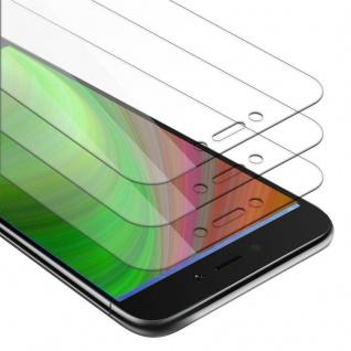 Cadorabo 3x Panzer Folie für Xiaomi RedMi NOTE 5A - Schutzfolie in KRISTALL KLAR - 3er Pack Gehärtetes (Tempered) Display-Schutzglas in 9H Härte mit 3D Touch Kompatibilität