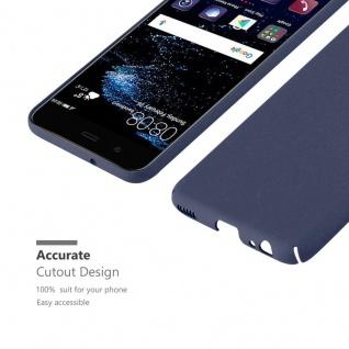Cadorabo Hülle für Huawei P10 in FROSTY BLAU - Hardcase Handyhülle aus Plastik gegen Kratzer und Stöße - Schutzhülle Bumper Ultra Slim Back Case Hard Cover - Vorschau 5