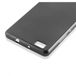 Cadorabo Hülle für Huawei P8 LITE 2015 in SCHWARZ - Handyhülle aus flexiblem TPU Silikon - Silikonhülle Schutzhülle Ultra Slim Soft Back Cover Case Bumper - Vorschau 2