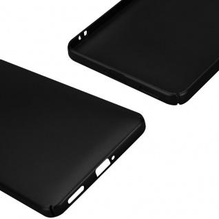 Cadorabo Hülle für Nokia 6 2017 in METALL SCHWARZ - Hardcase Handyhülle aus Plastik gegen Kratzer und Stöße - Schutzhülle Bumper Ultra Slim Back Case Hard Cover - Vorschau 5