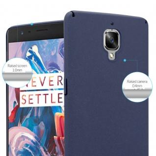 Cadorabo Hülle für OnePlus 3 / 3T in FROSTY BLAU - Hardcase Handyhülle aus Plastik gegen Kratzer und Stöße - Schutzhülle Bumper Ultra Slim Back Case Hard Cover - Vorschau 4