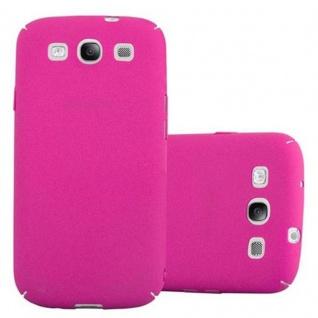 Cadorabo Hülle für Samsung Galaxy S3 / S3 NEO in FROSTY PINK Hardcase Handyhülle aus Plastik gegen Kratzer und Stöße Schutzhülle Bumper Ultra Slim Back Case Hard Cover