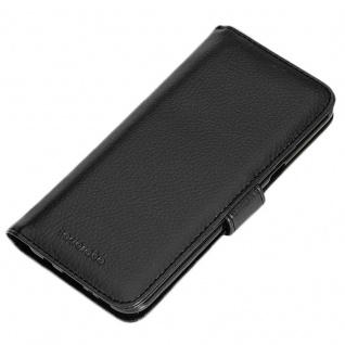 Cadorabo Hülle für Samsung Galaxy S8 PLUS in OXID SCHWARZ ? Handyhülle mit Magnetverschluss und 3 Kartenfächern ? Case Cover Schutzhülle Etui Tasche Book Klapp Style - Vorschau 5