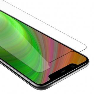 Cadorabo Panzer Folie für Nokia 5.1 2018 PLUS - Schutzfolie in KRISTALL KLAR - Gehärtetes (Tempered) Display-Schutzglas in 9H Härte mit 3D Touch Kompatibilität