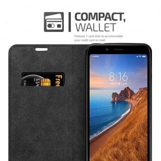 Cadorabo Hülle für Xiaomi RedMi 7A in APFEL ROT Handyhülle mit Magnetverschluss, Standfunktion und Kartenfach Case Cover Schutzhülle Etui Tasche Book Klapp Style - Vorschau 4