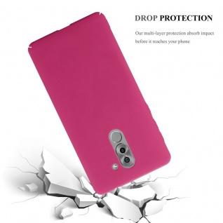 Cadorabo Hülle für Honor 6X in FROSTY PINK - Hardcase Handyhülle aus Plastik gegen Kratzer und Stöße - Schutzhülle Bumper Ultra Slim Back Case Hard Cover - Vorschau 3