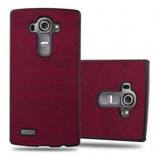 Cadorabo Hülle für LG G4 / G4 PLUS in WOODY ROT ? Hardcase Handyhülle aus Plastik gegen Kratzer und Stöße ? Schutzhülle Bumper Ultra Slim Back Case Hard Cover