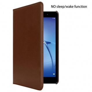 """Cadorabo Tablet Hülle für Huawei MediaPad T3 8 (8, 0"""" Zoll) in PILZ BRAUN Book Style Schutzhülle OHNE Auto Wake Up mit Standfunktion und Gummiband Verschluss - Vorschau 2"""