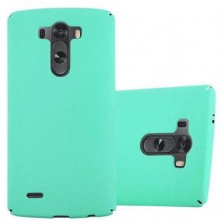 Cadorabo Hülle für LG G3 in FROSTY GRÜN - Hardcase Handyhülle aus Plastik gegen Kratzer und Stöße - Schutzhülle Bumper Ultra Slim Back Case Hard Cover
