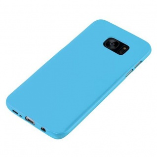 Cadorabo Hülle für Samsung Galaxy S7 EDGE in JELLY HELL BLAU ? Handyhülle aus flexiblem TPU Silikon ? Silikonhülle Schutzhülle Ultra Slim Soft Back Cover Case Bumper - Vorschau 2
