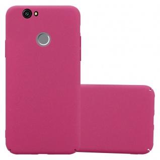Cadorabo Hülle für Huawei Nova in FROSTY PINK - Hardcase Handyhülle aus Plastik gegen Kratzer und Stöße - Schutzhülle Bumper Ultra Slim Back Case Hard Cover