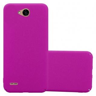 Cadorabo Hülle für LG X Power 2 in FROSTY PINK - Hardcase Handyhülle aus Plastik gegen Kratzer und Stöße - Schutzhülle Bumper Ultra Slim Back Case Hard Cover