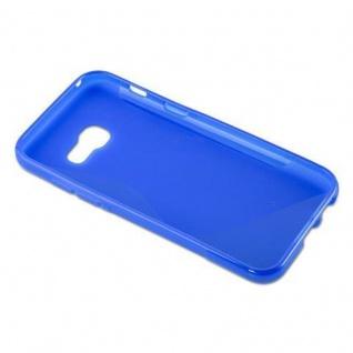 Cadorabo Hülle für Samsung Galaxy A3 2017 in ROYAL BLAU ? Handyhülle aus flexiblem TPU Silikon ? Silikonhülle Schutzhülle Ultra Slim Soft Back Cover Case Bumper - Vorschau 5