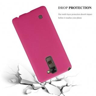 Cadorabo Hülle für LG Stylus 2 in FROSTY PINK - Hardcase Handyhülle aus Plastik gegen Kratzer und Stöße - Schutzhülle Bumper Ultra Slim Back Case Hard Cover - Vorschau 3