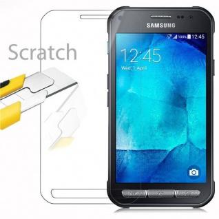 Cadorabo Panzer Folie für Samsung Galaxy XCover 3 - Schutzfolie in KRISTALL KLAR - Gehärtetes (Tempered) Display-Schutzglas in 9H Härte mit 3D Touch Kompatibilität - Vorschau 2