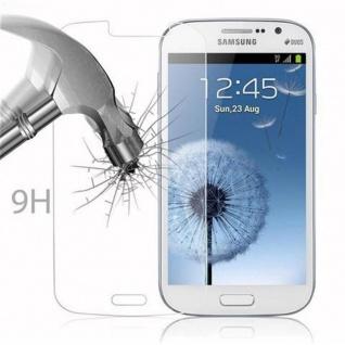 Cadorabo Panzer Folie für Samsung Galaxy GRAND DUOS / GRAND NEO - Schutzfolie in KRISTALL KLAR - Gehärtetes (Tempered) Display-Schutzglas in 9H Härte mit 3D Touch Kompatibilität - Vorschau 3