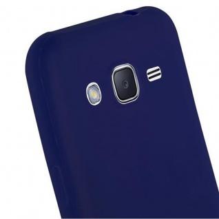 Cadorabo Hülle für Samsung Galaxy J2 2015 in CANDY DUNKEL BLAU - Handyhülle aus flexiblem TPU Silikon - Silikonhülle Schutzhülle Ultra Slim Soft Back Cover Case Bumper - Vorschau 5